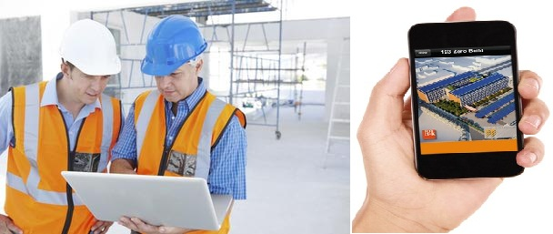 mobile apps for construction