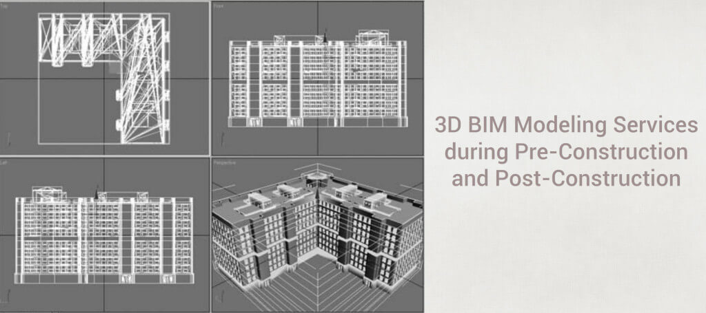 3D BIM modeling services from pre to post-construction | RMI