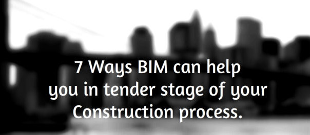 bim in tender stage