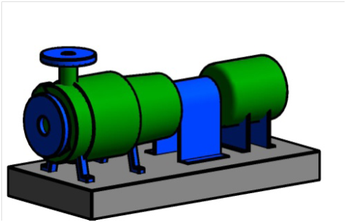 pump Revit family creation project