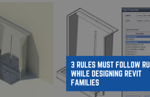 3 Rules Must Follow Rules While Designing Revit Families