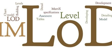 Level of Development (LOD) for BIM Execution Plan