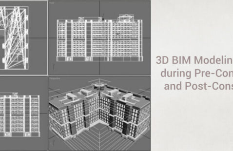 3D BIM modeling services from pre to post-construction   RMI