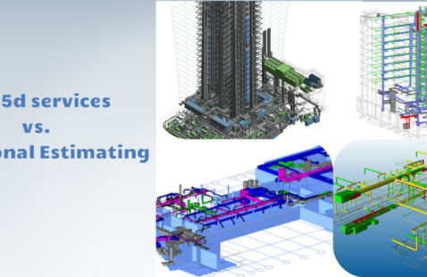 BIM 5d services vs. Traditional Estimating | RMI
