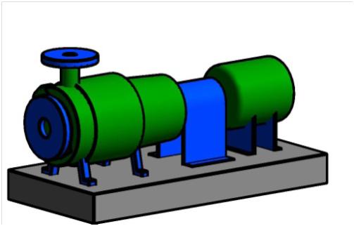 pump Revit family creation project
